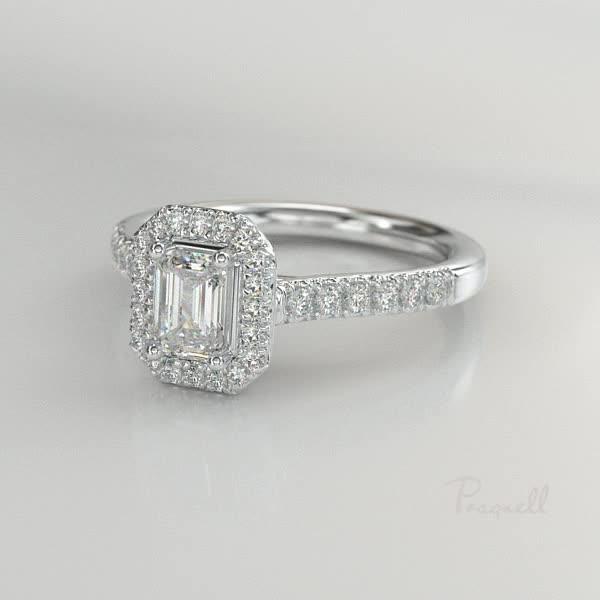 Celestial Diamond Ring<br /> 0.58CT in Platinum