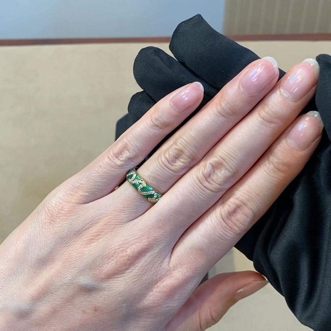 Poroca Diamond Ring<br /> 0.39CT in Yellow Gold