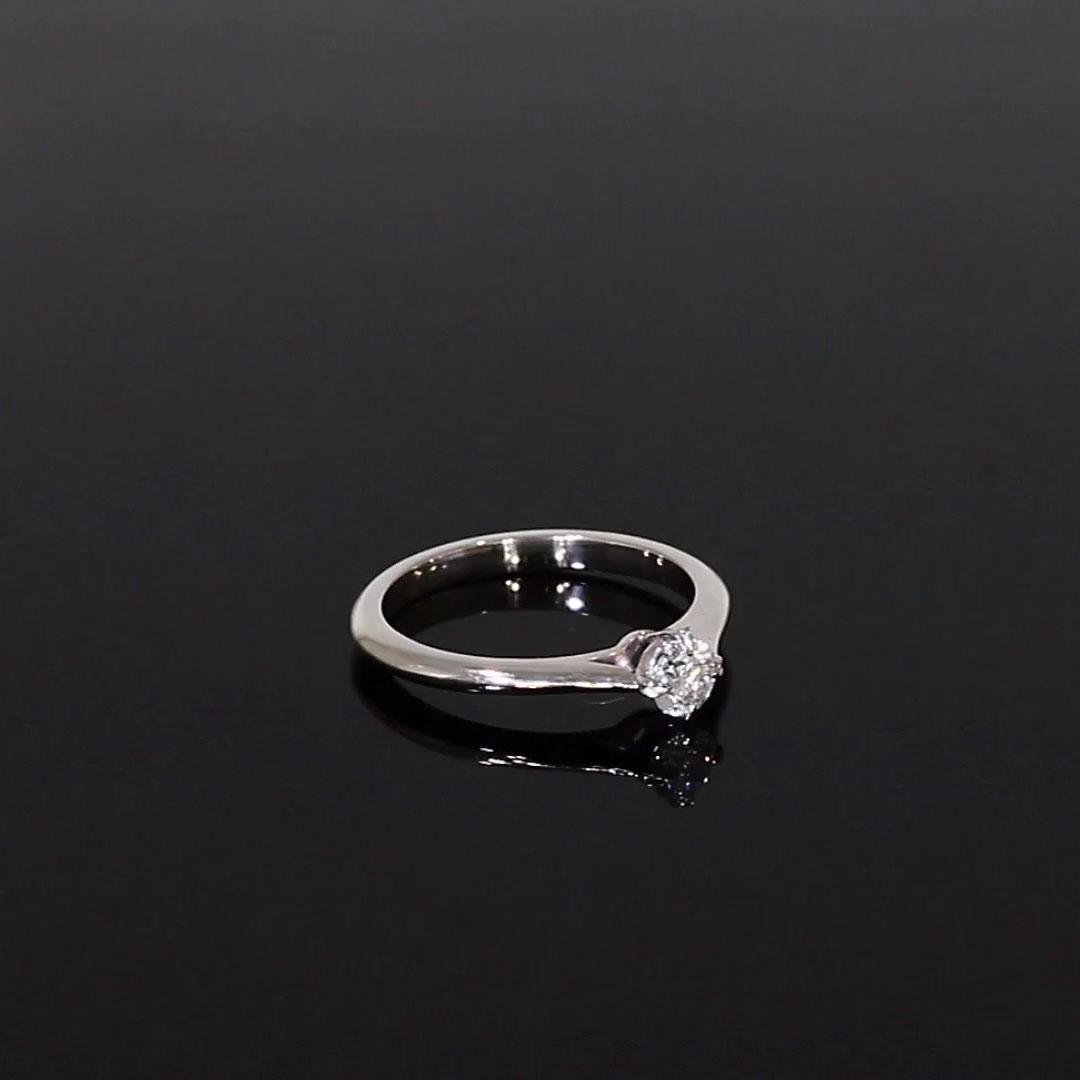 0.30CT Diamond Solitaire Ring<br /> Platinum Windsor Setting