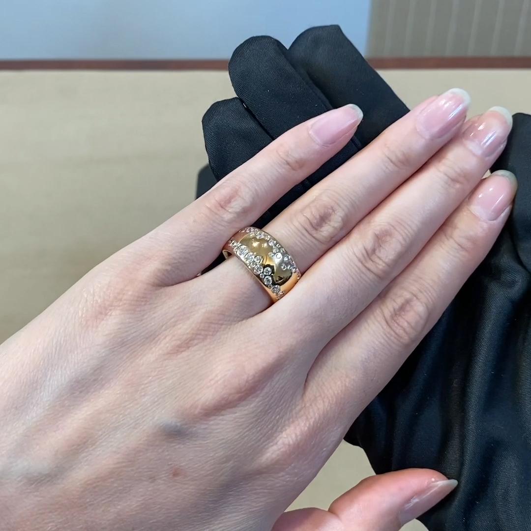 Diamond Dress Ring<br /> 1.05CT in Rose Gold