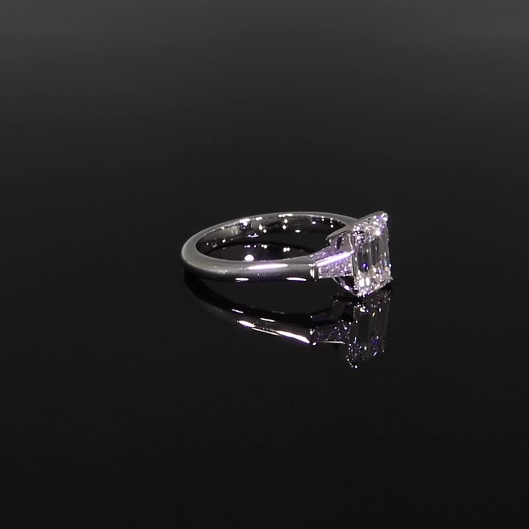 1.72CT Diamond Solitaire Ring<br /> Platinum Regency Setting