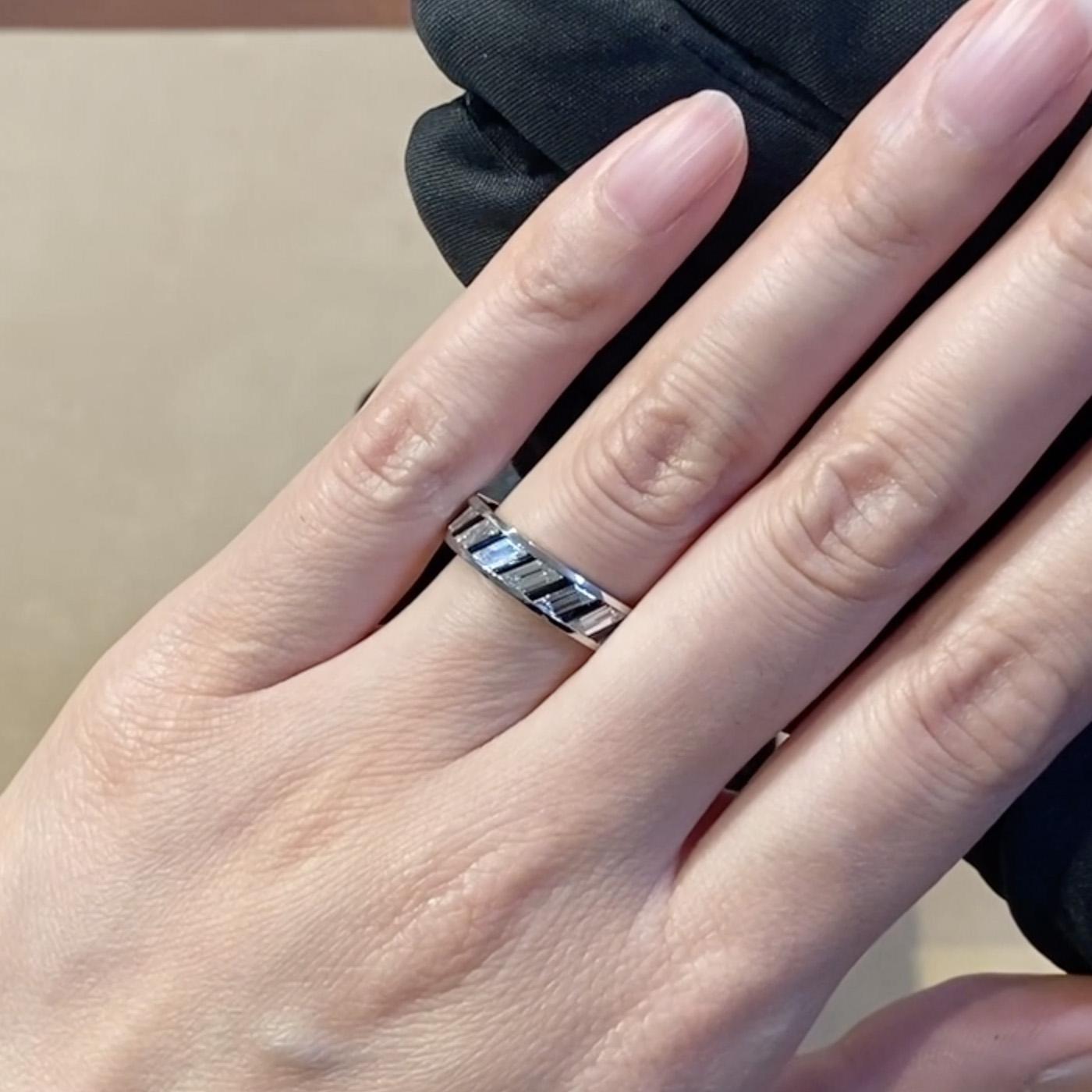 Diamond & Jade Ring <br /> 2.45CT in Platinum