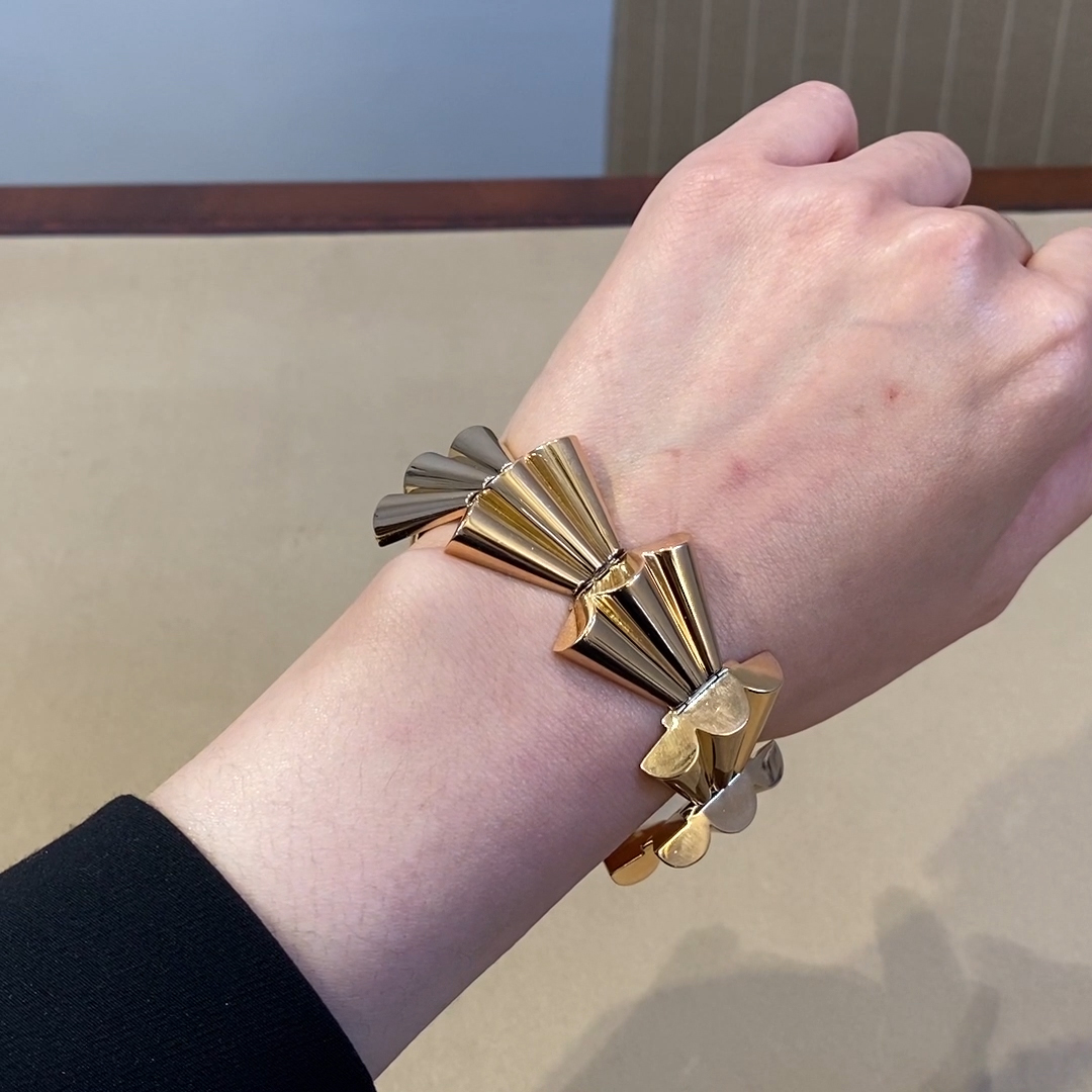 Retro French Bracelet<br /> in Rose Gold