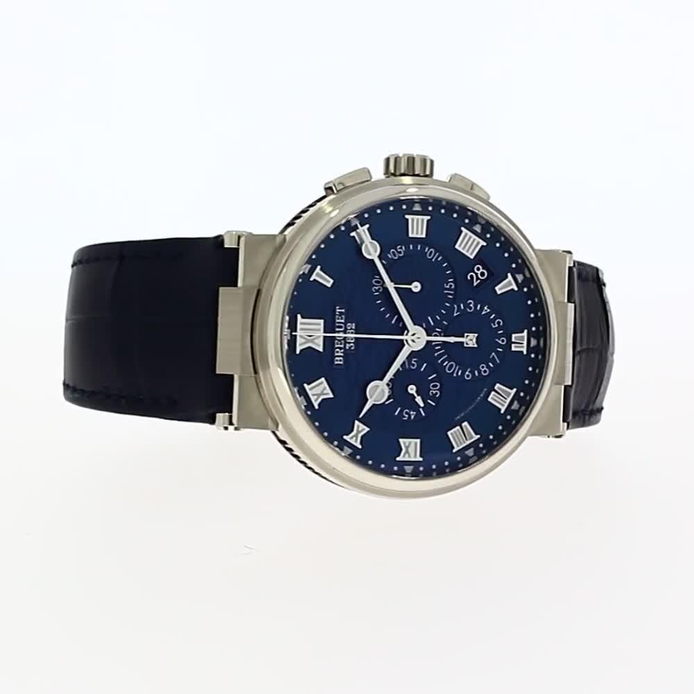 Breguet Marine Chronograph  <br /> 5527BB/Y2/9WV
