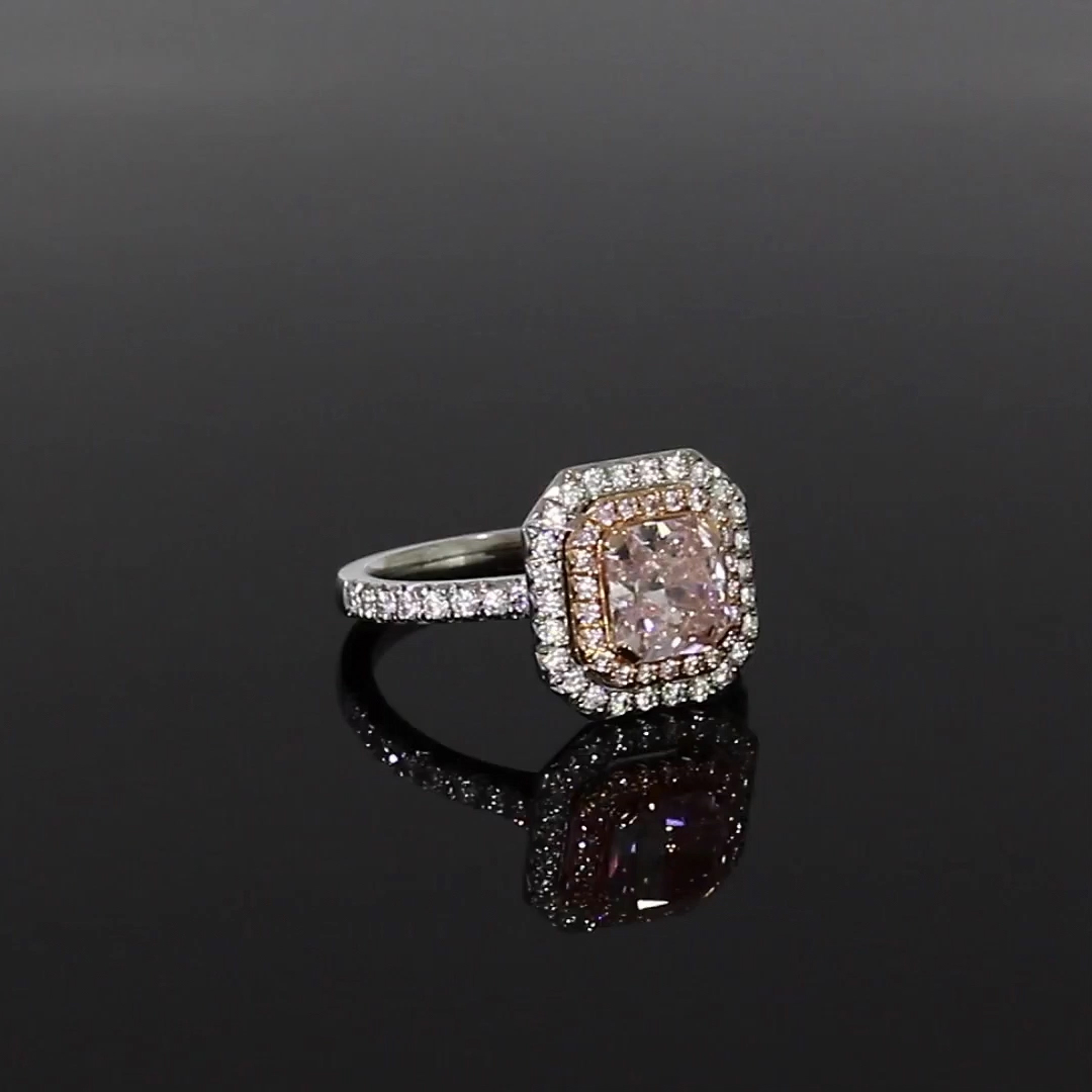 5601226_v501 Radiant Cut with a Diamond Surround_501