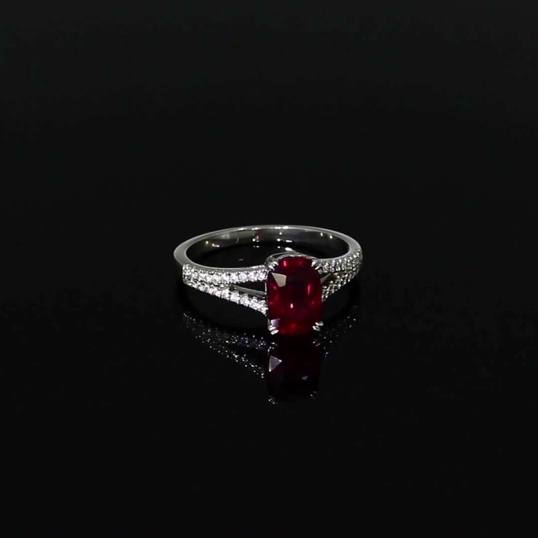 5611076_v501 Unheated with Diamond Set Split Shoulders_501
