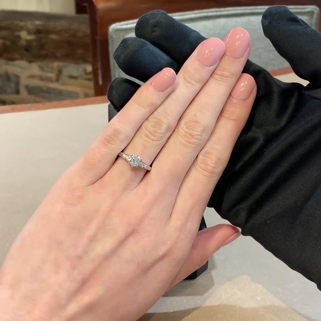 1.50CT Diamond Solitaire Ring<br /> Platinum Antrobus Setting
