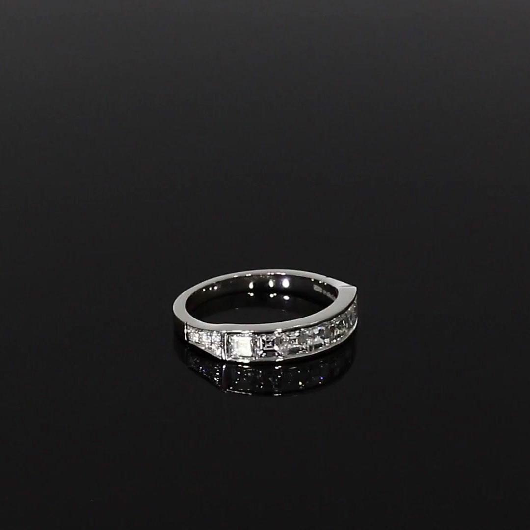 Antrobus Diamond 7 Stone Ring<br /> 1.18CT in Platinum