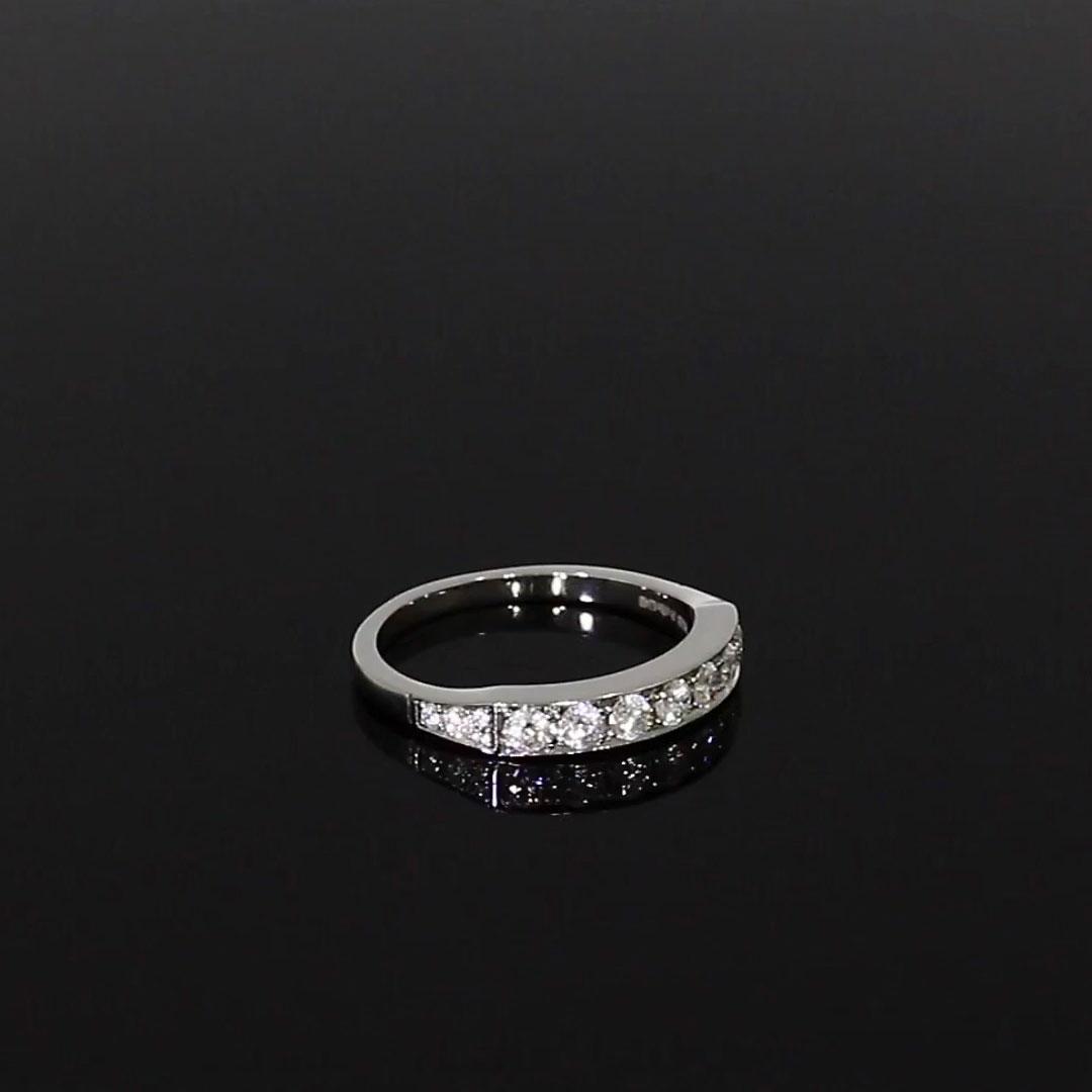 Antrobus Diamond Seven Stone Ring<br /> 0.41CT in Platinum