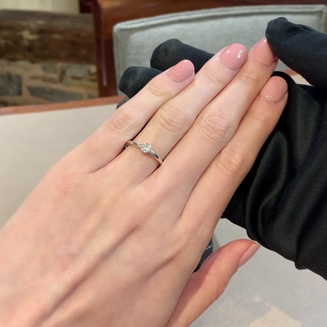 Sundance Diamond Ring<br /> 0.15CT in 18CT White Gold