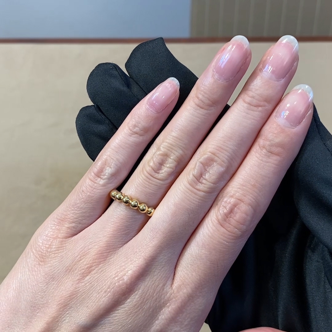 Bohemia Polished Ring<br /> in Yellow Gold