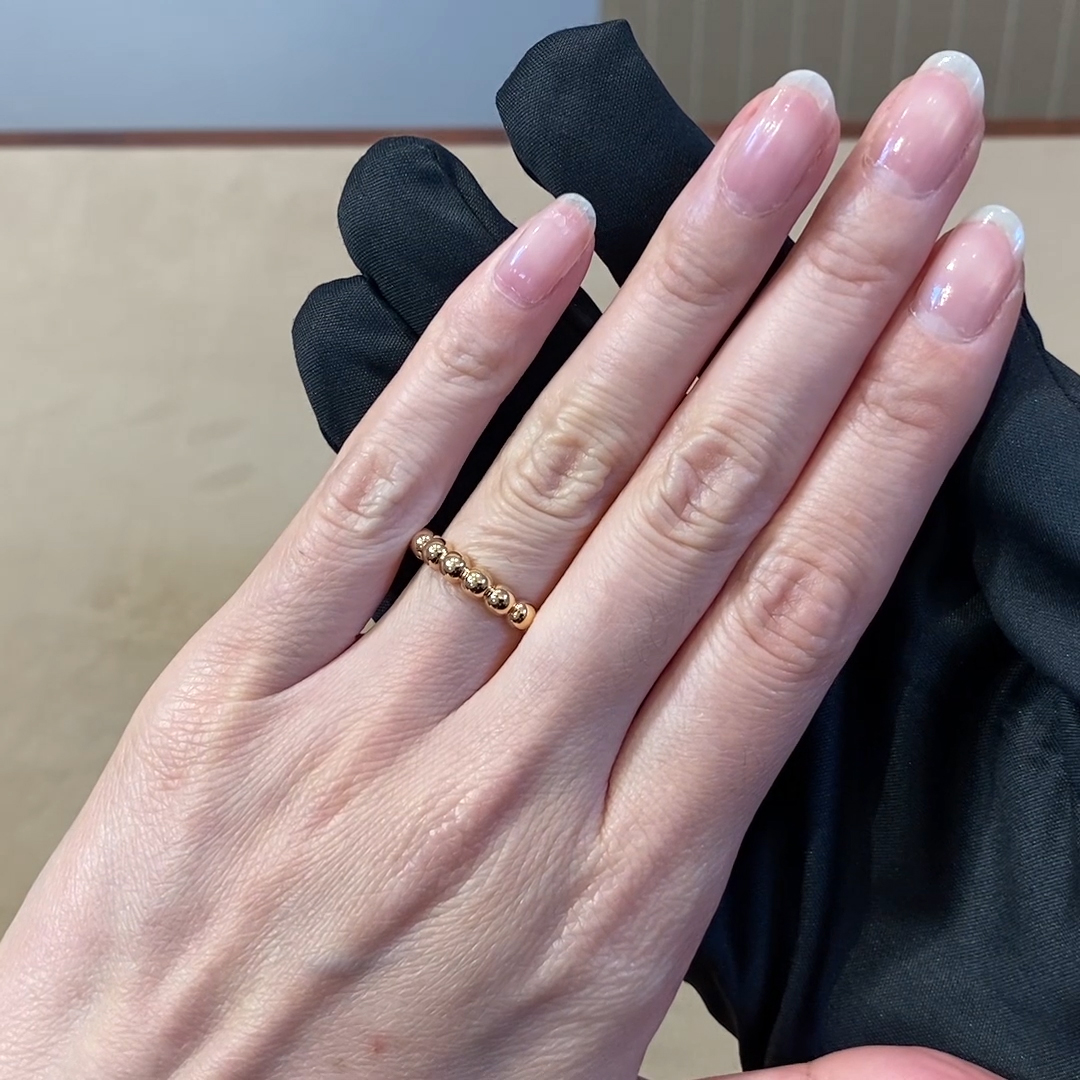 Bohemia Polished Ring<br /> in Rose Gold