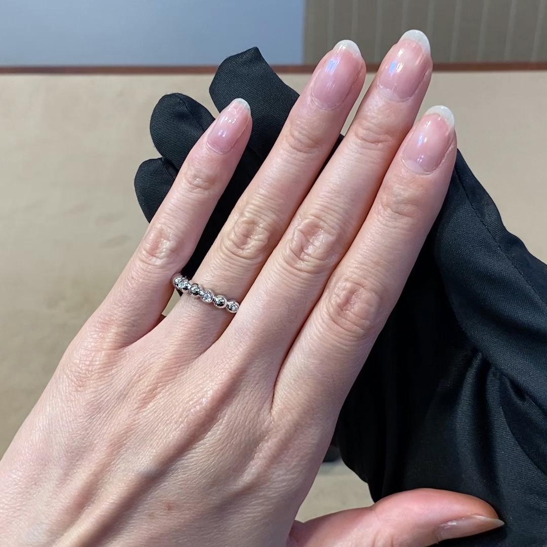 Bohemia Diamond Ring<br /> 0.13CT in White Gold