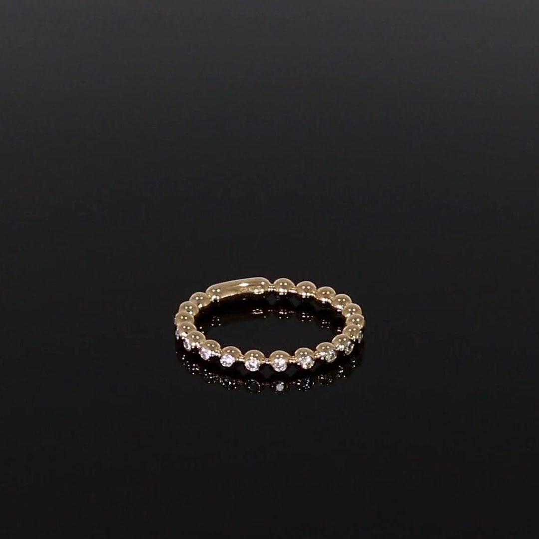 Bohemia Diamond Ring<br /> 0.29CT in 18CT Rose Gold