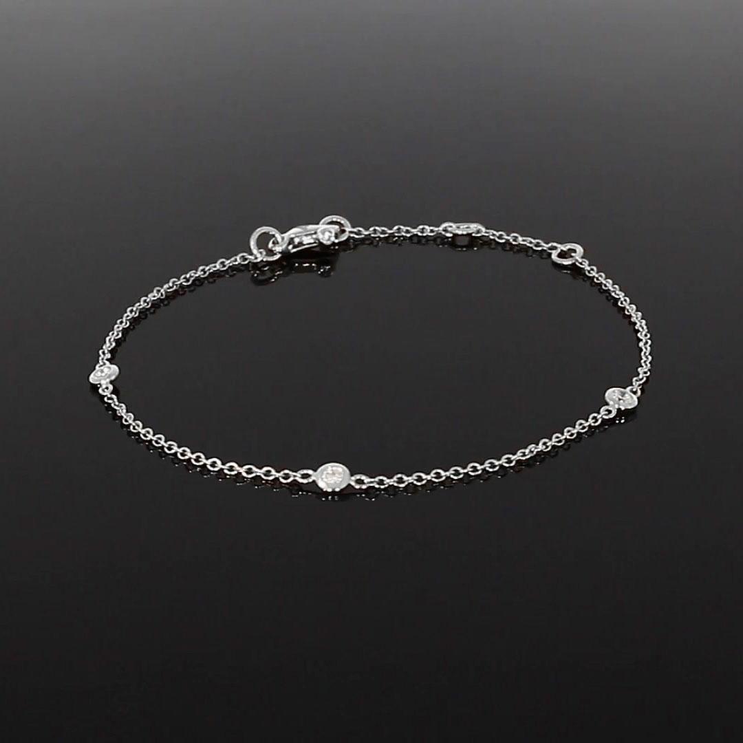 Sundance Diamond Bracelet <br /> 0.18CT in White Gold