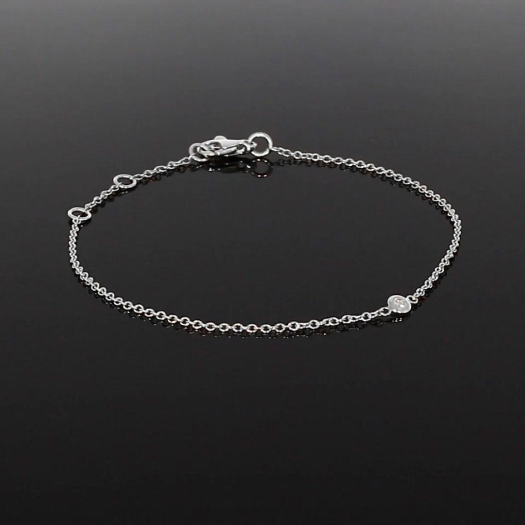 Sundance Diamond Bracelet<br /> 0.07CT in 18CT White Gold