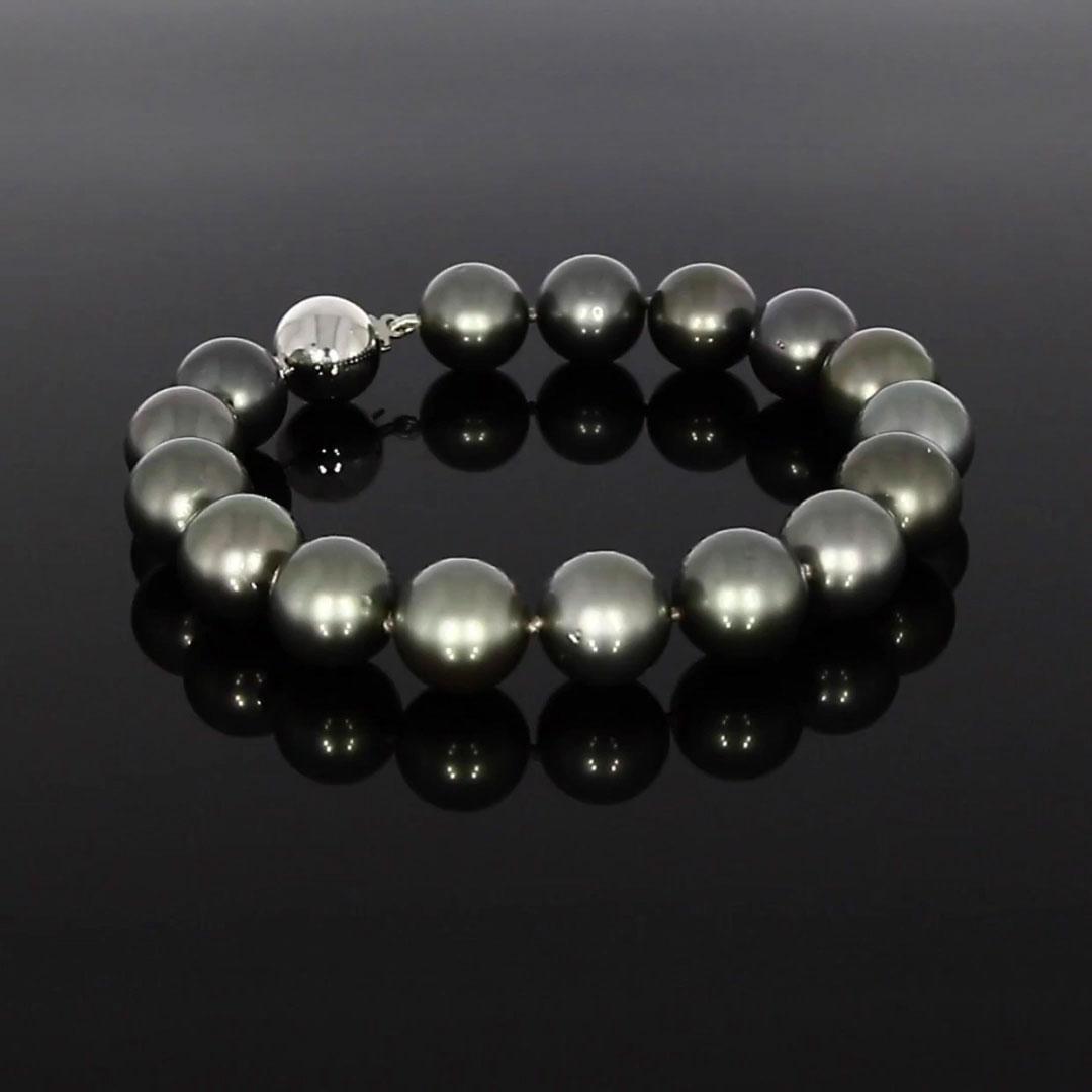 Tahitian Pearl Bracelet<br /> 10 - 11mm