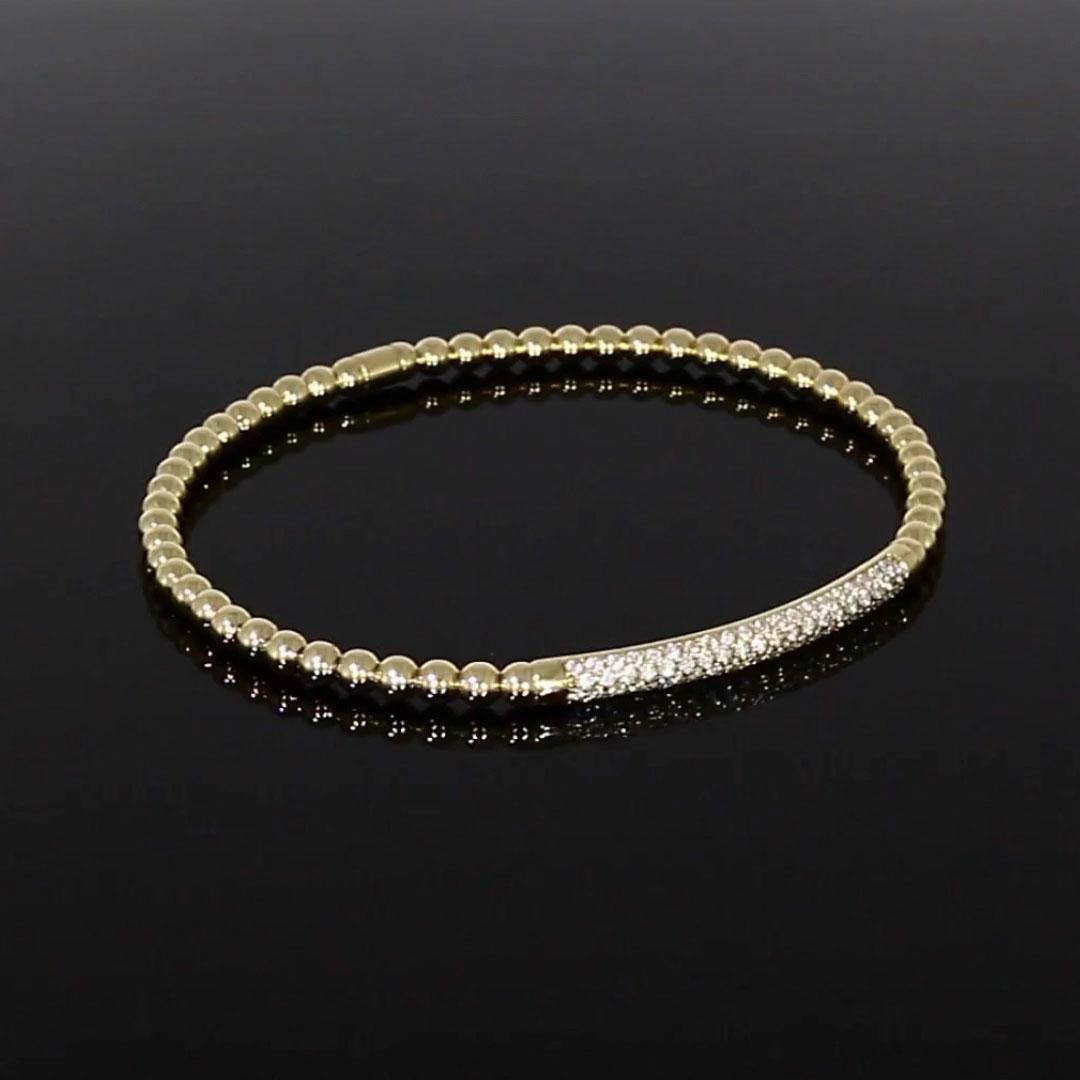 Bohemia Diamond Bracelet<br /> 0.47CT in 18CT Yellow Gold