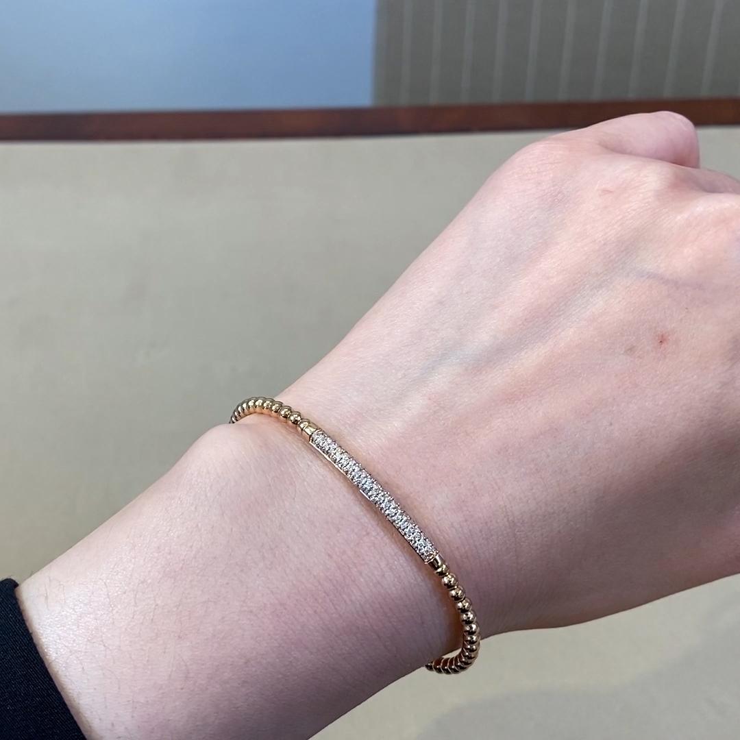 Bohemia Diamond Bracelet<br /> 0.47CT in 18CT Rose Gold