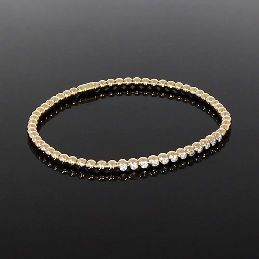 Bohemia Diamond Bracelet <br /> 0.39CT in Yellow Gold
