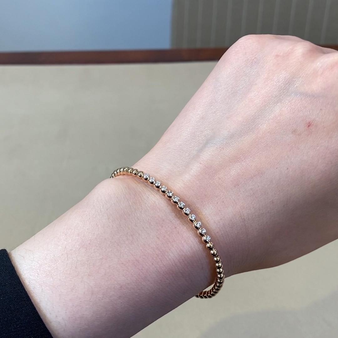 Bohemia Diamond Bracelet<br /> 0.39CT in 18CT Rose Gold