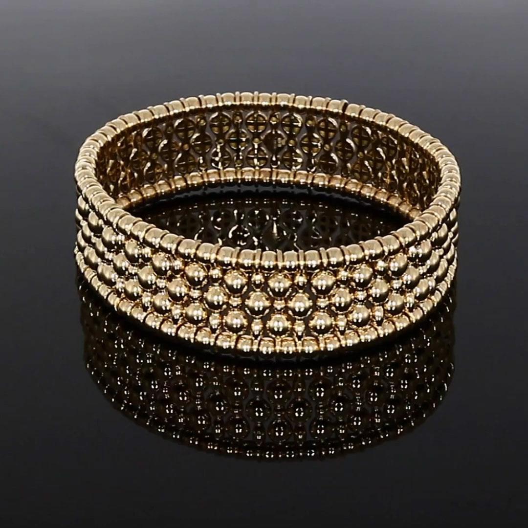 Bohemia Gold Bracelet<br /> in 18CT Rose Gold