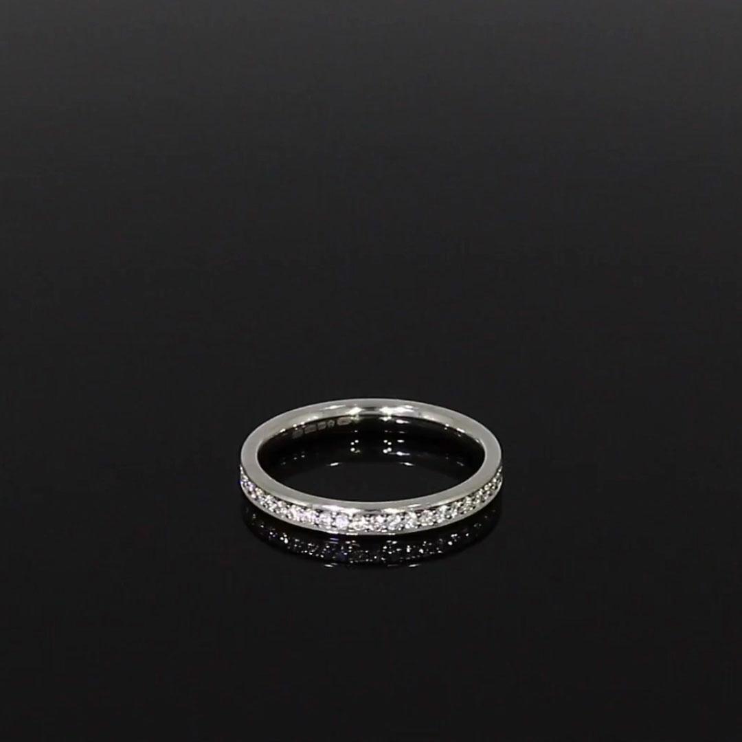 Brilliant Cut Diamond Eternity Ring<br /> 0.92CT in Platinum