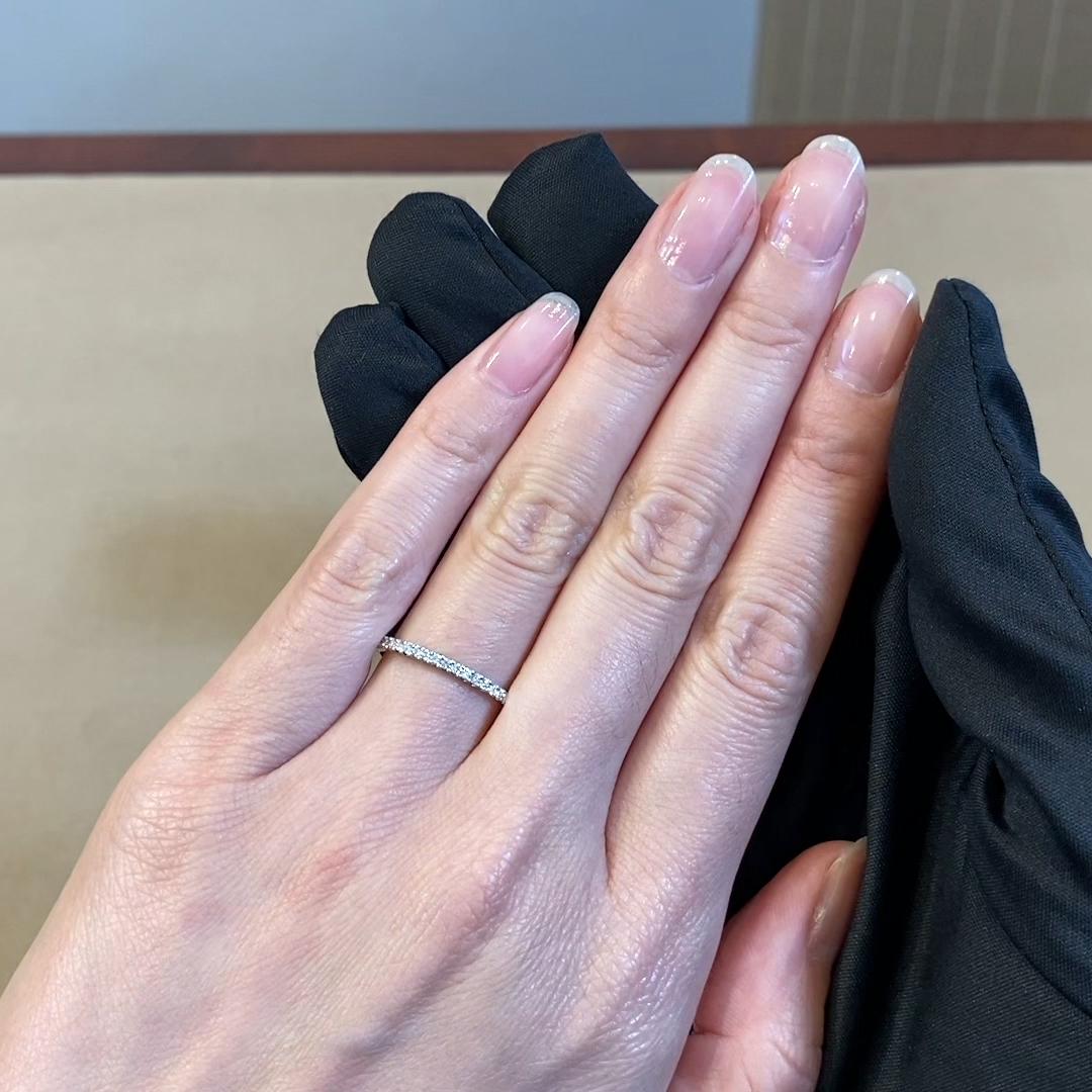 Brilliant Cut Diamond Eternity Ring<br /> 0.38CT in Platinum