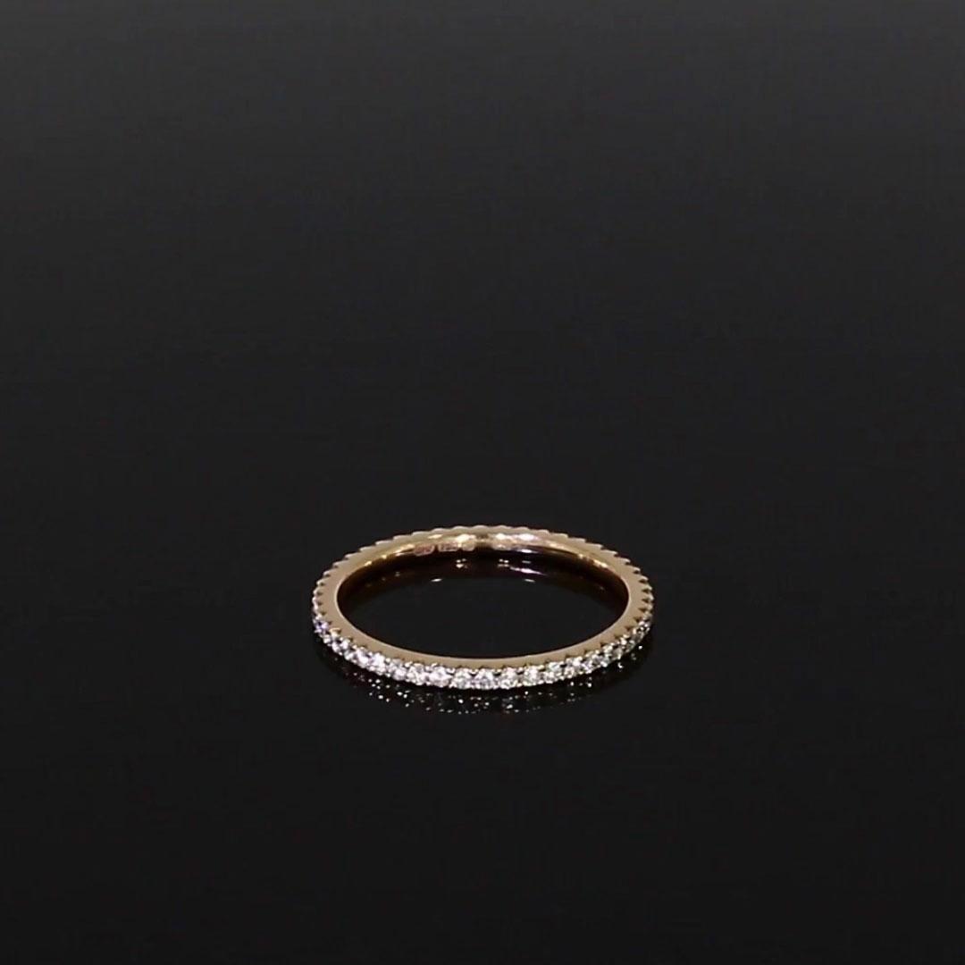 Brilliant Cut Diamond Eternity Ring<br /> 0.40CT in 18CT Rose Gold