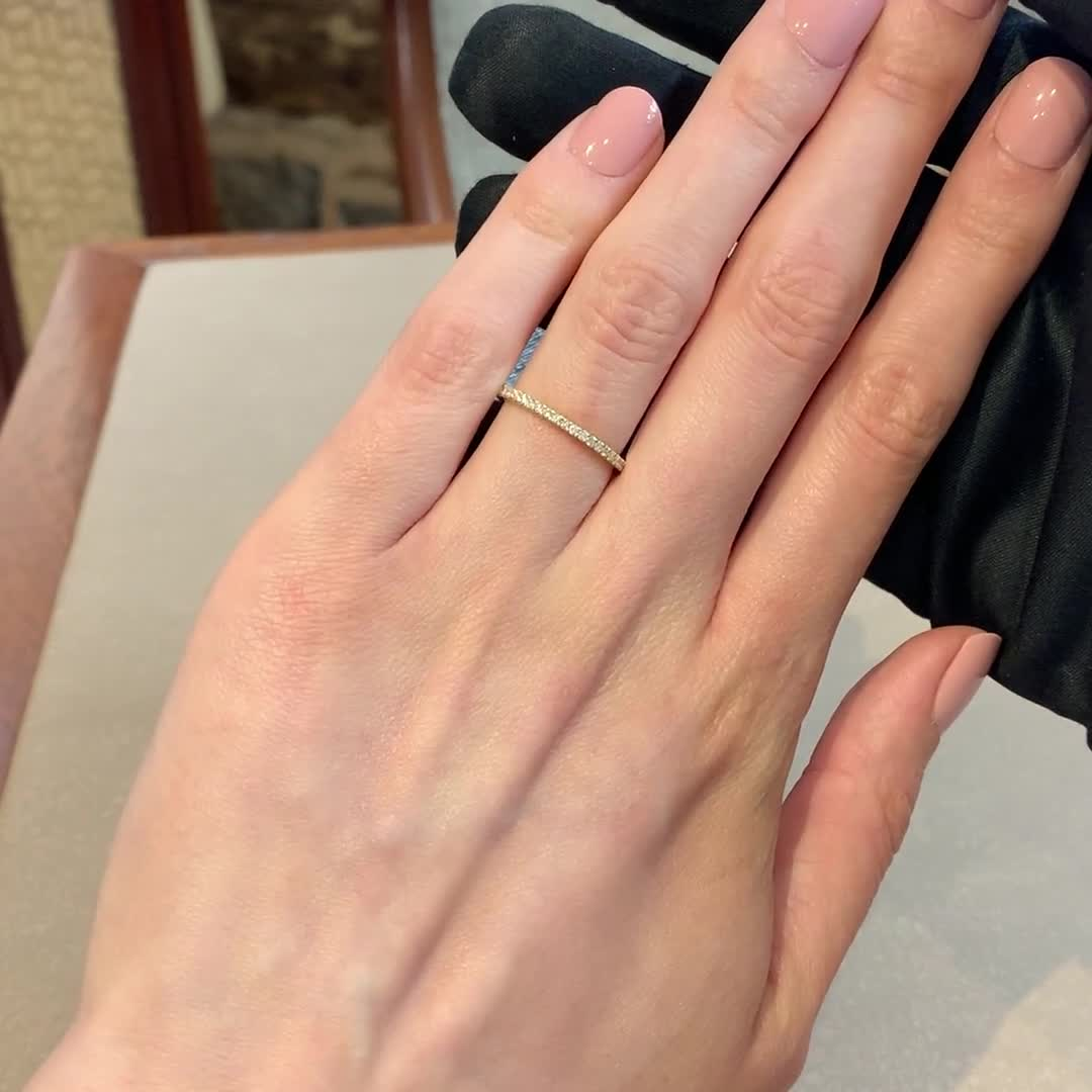 Brilliant Cut Diamond Eternity Ring<br /> 0.76CT in 18CT Yellow Gold