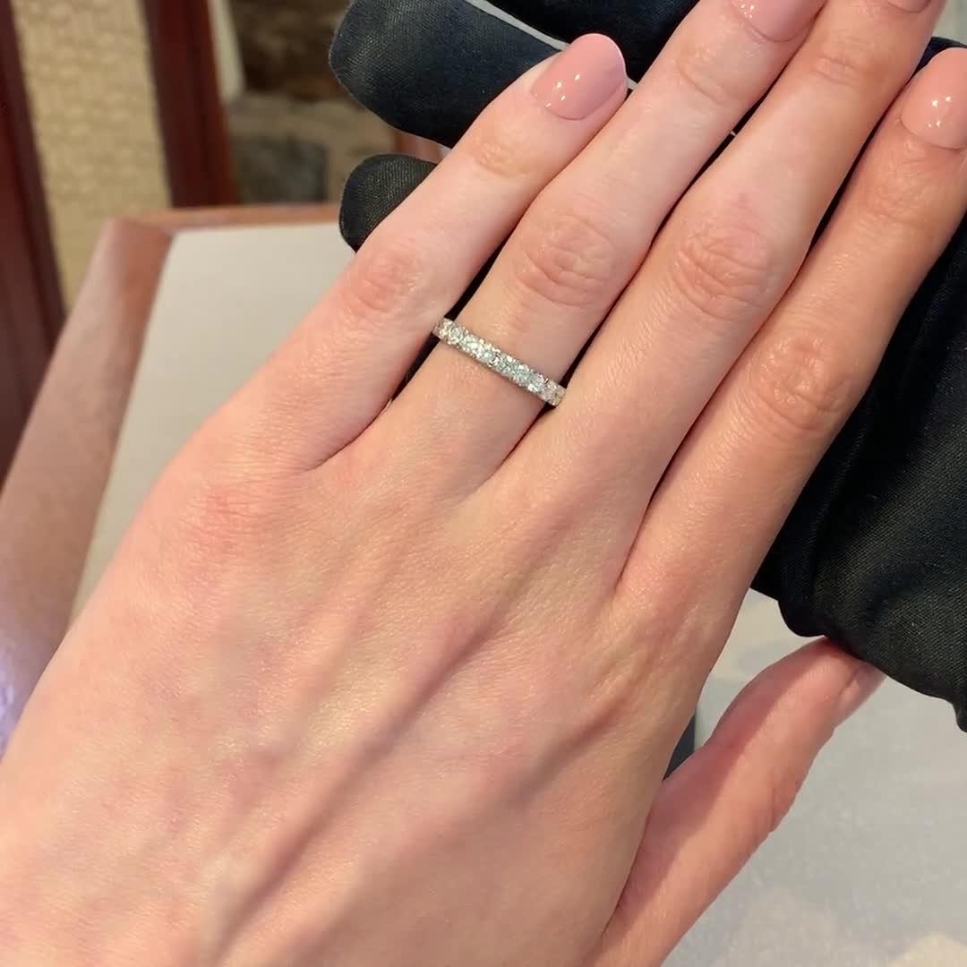 Brilliant Cut Diamond Eternity Ring<br /> 1.40CT in Platinum