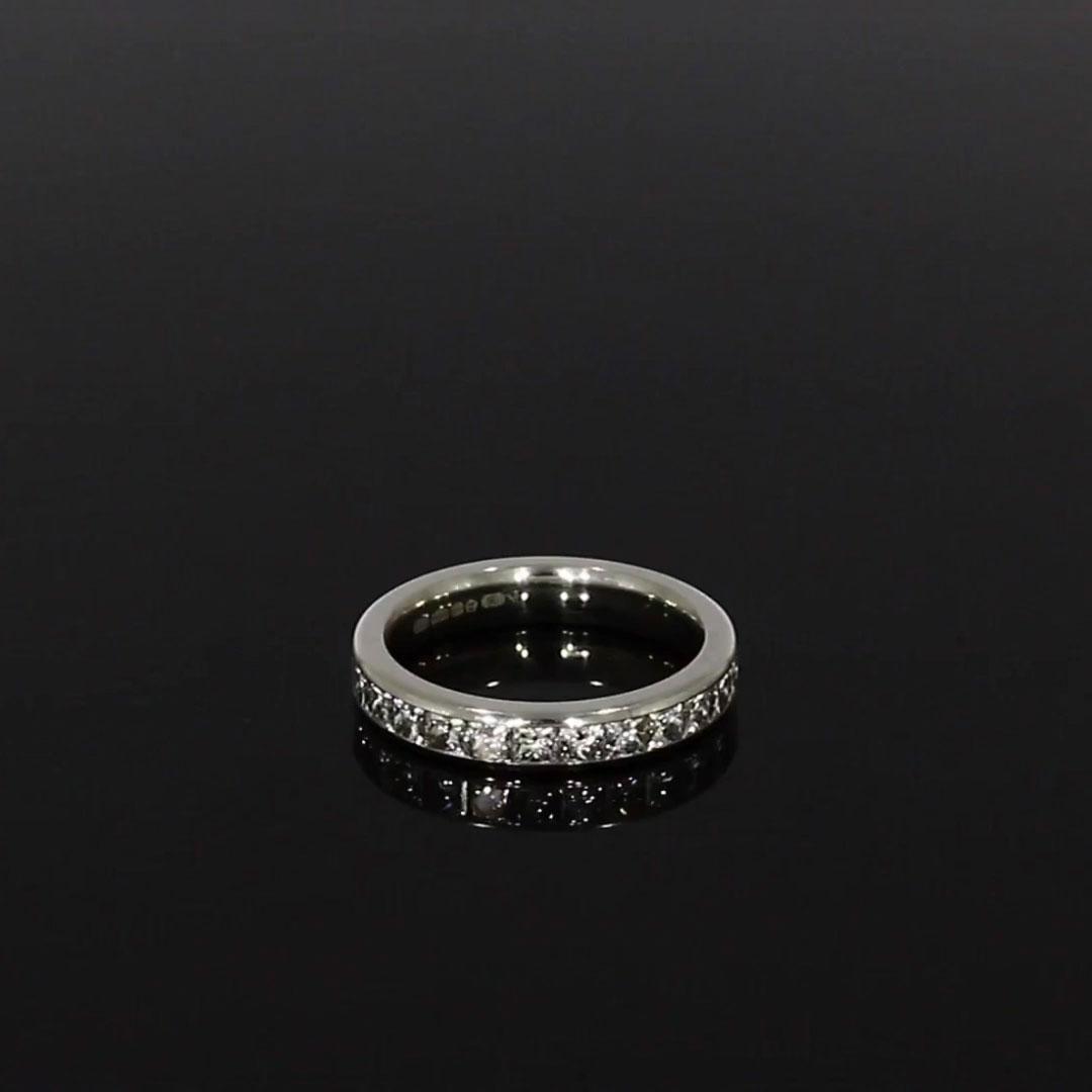 Princess Cut Diamond Eternity Ring<br /> 2.33CT in Platinum