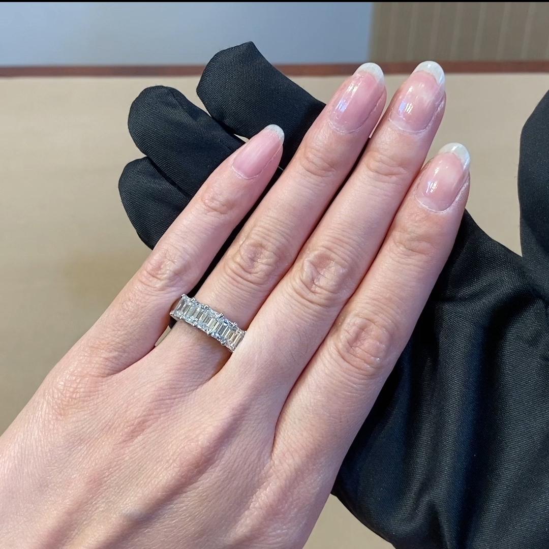 Five Stone Diamond Ring <br />  2.5CT in Platinum