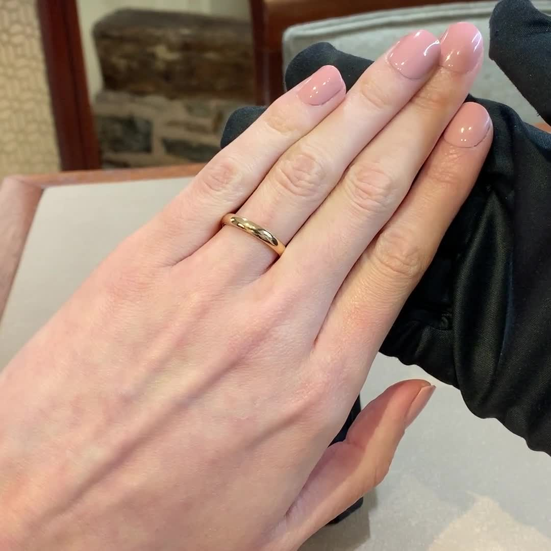 5mm Pragnell Court Wedding Ring<br /> in 18CT Rose Gold