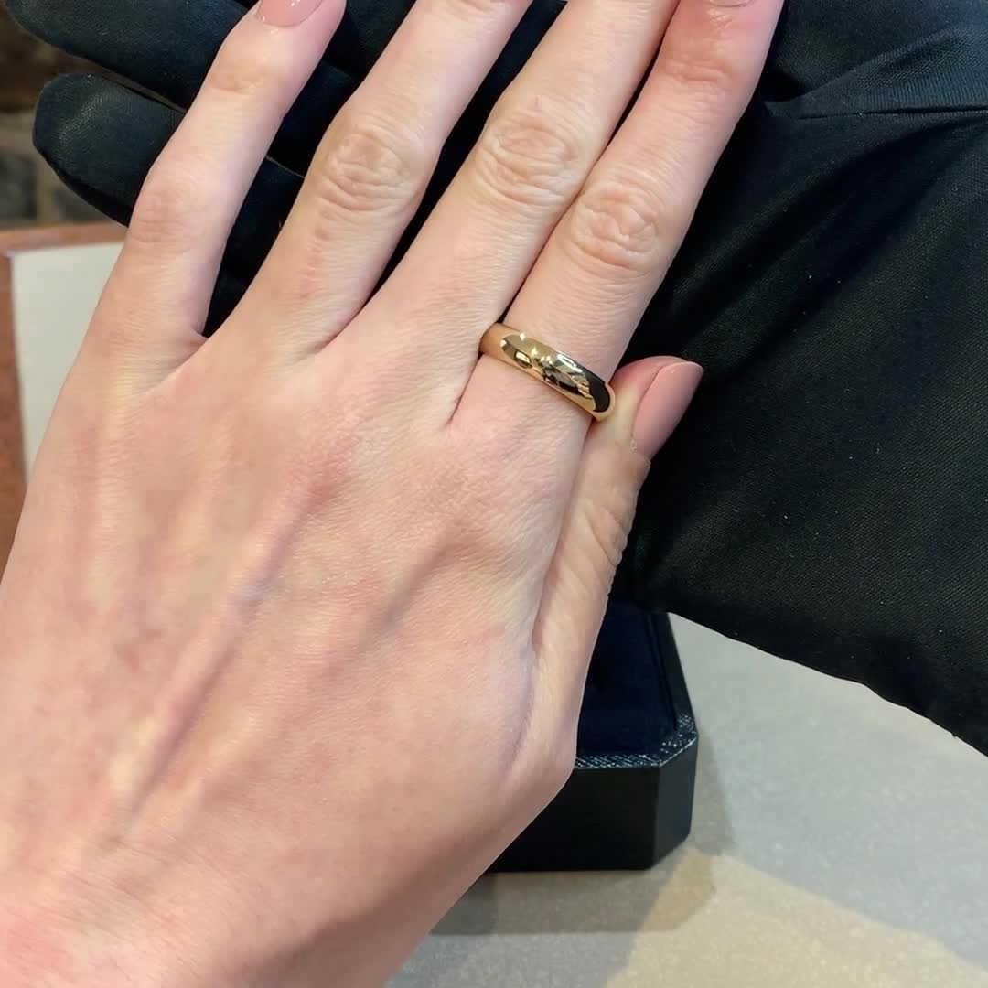 5mm Pragnell Court Wedding Ring<br /> in 18CT Yellow Gold