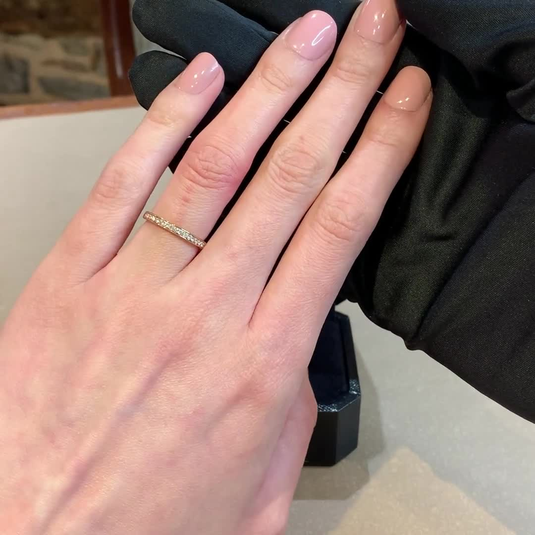 5mm Flat Court Wedding Ring<br /> in Platinum with softened edges