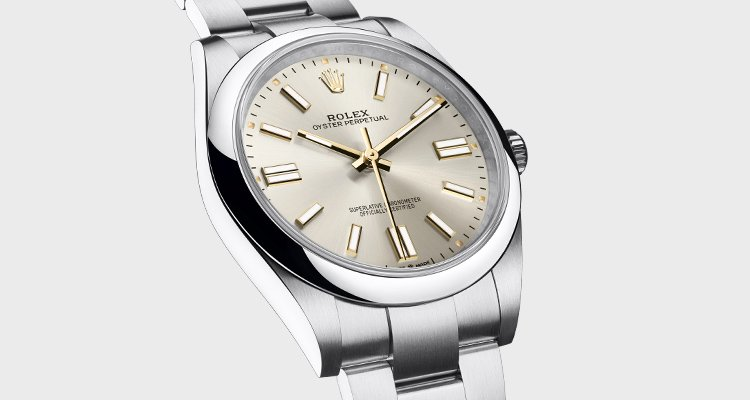 Rolex Watches Landing Page Banner