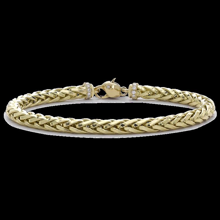 Skyfall 19cm Medium Chain Bracelet<br /> in 18CT Yellow Gold