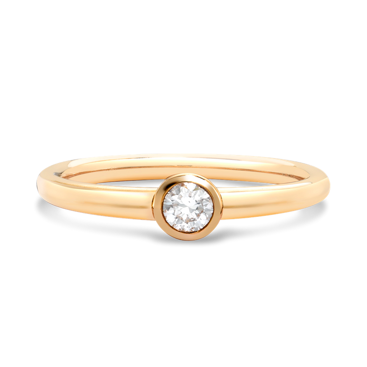 Sundance Diamond Ring<br /> 0.15CT in 18CT Yellow Gold