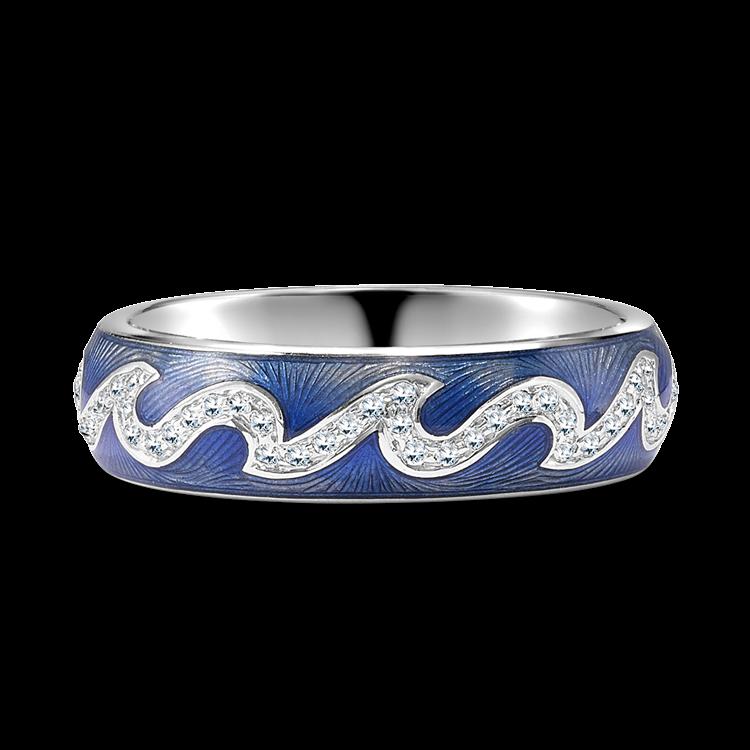 Poroca Diamond Ring<br /> 0.34CT in White Gold