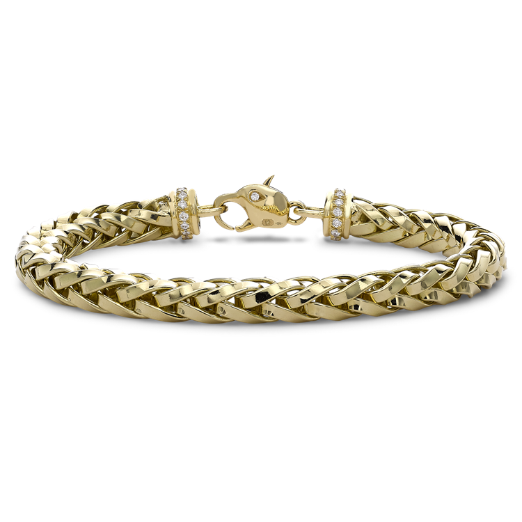 Skyfall 19cm Heavy Chain Bracelet<br /> in 18CT Yellow Gold