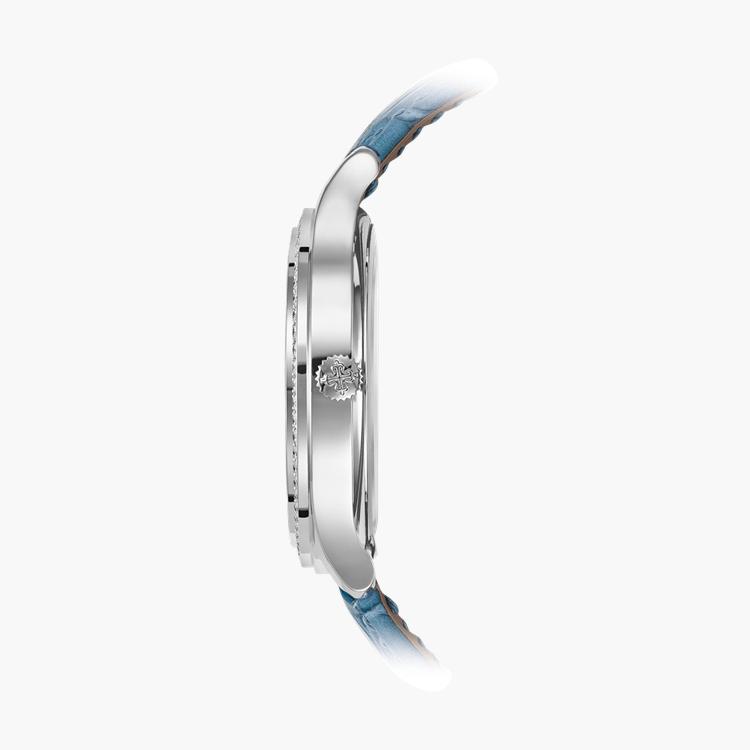 Patek Philippe Complications  7130G-016 36mm, Blue Dial, Baton Numerals_3