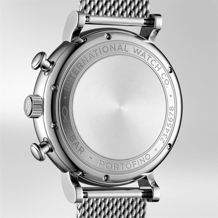 IWC Portofino Chronograph  IW391028 42mm, Silver Dial, Baton Numerals_3