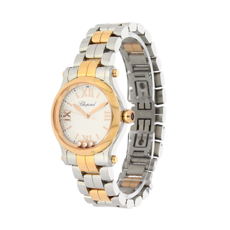 Chopard Happy Sport  278590-6002 30mm, White Dial, Roman Numerals_2
