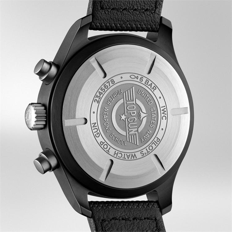 IWC Pilot's Top Gun Chronograph  IW389001 44mm, Black Dial, Arabic Numerals_3