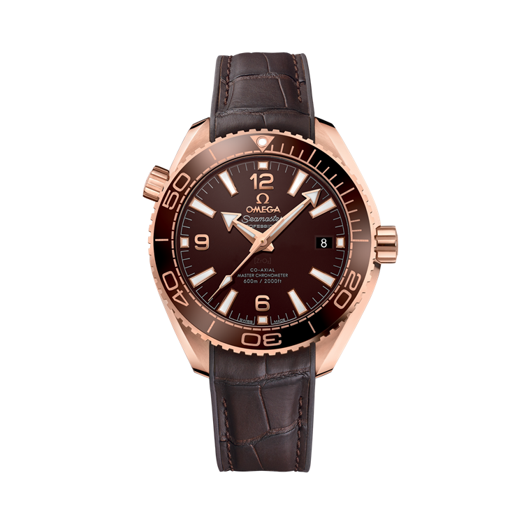 OMEGA Seamaster Planet Ocean 600m  O21563402013001 43.5mm, Chocolate Dial, Arabic/Baton Numerals_1