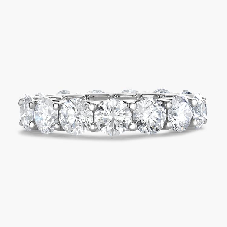 Brilliant Cut Diamond Eternity Ring 6.21CT in Platinum Brilliant Cut, Eternity, Claw Set_2