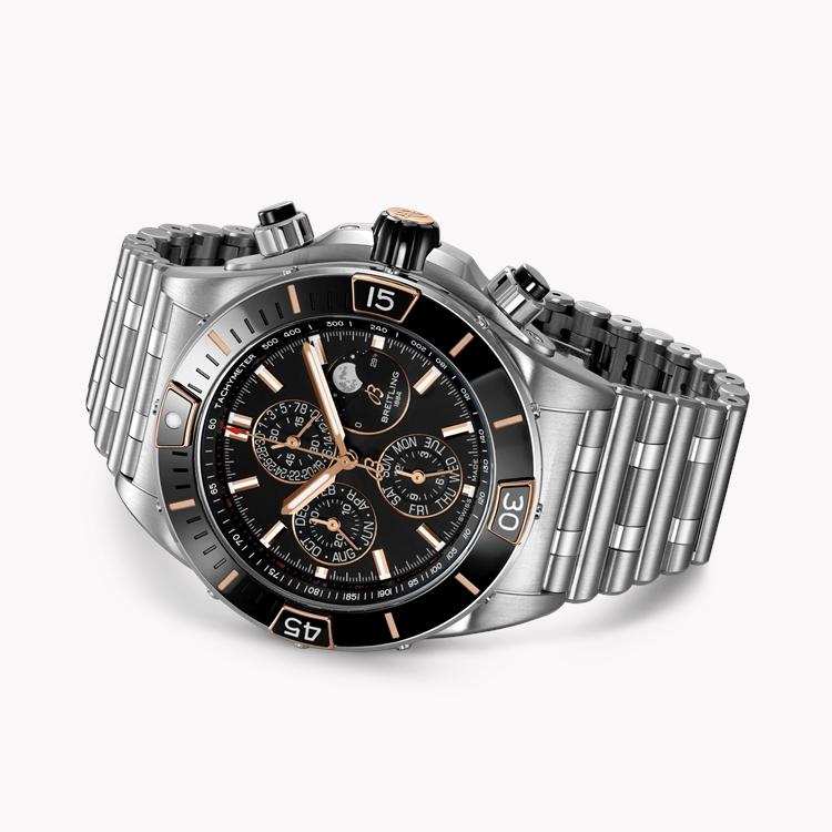 Breitling Super Chronomat 44 Four-Year Calendar  AB0136161C1A1 44mm, Black Dial_3