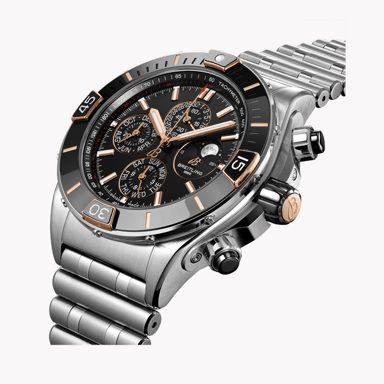 Breitling Super Chronomat 44 Four-Year Calendar  AB0136161C1A1 44mm, Black Dial_2
