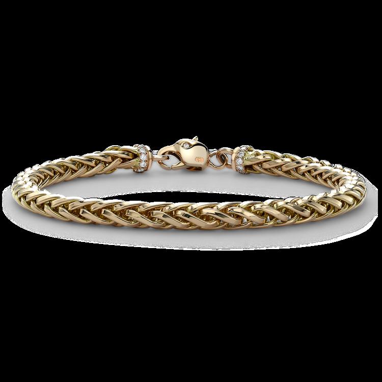 Skyfall 19cm Medium Chain Bracelet<br /> in 18CT Rose Gold